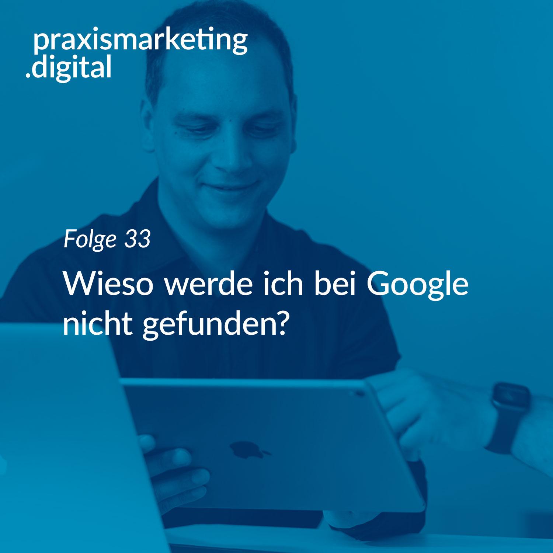 Warum nicht bei Google gefunden?