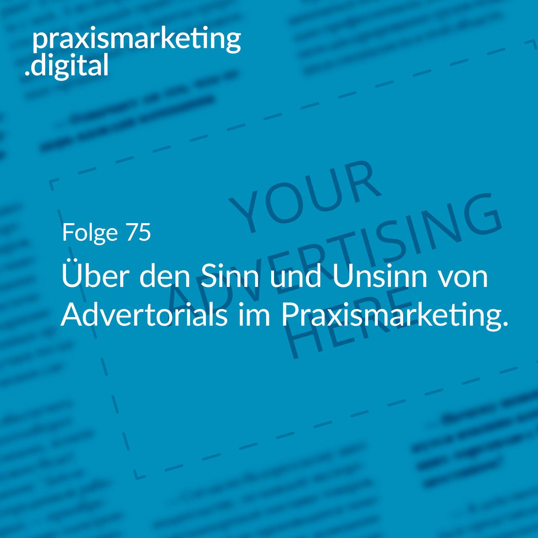 Advertorial Praxismarketing