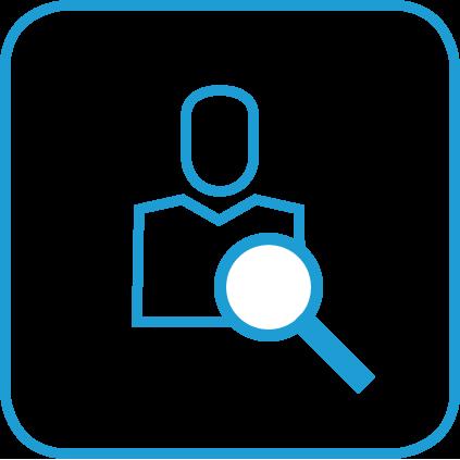 Icon Praxismitarbeiter finden