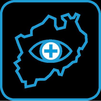 Icon Regionale Sichtbarkeit